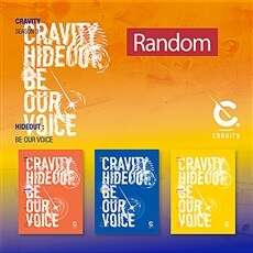 CRAVITY(크래비티) SEASON3. [HIDEOUT: BE OUR VOICE][버전 3종 중 랜덤발송]