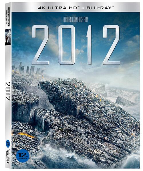 [4K 블루레이] 2012 : 슬립케이스 초회 한정판 (2disc: 4K UHD + 2D)