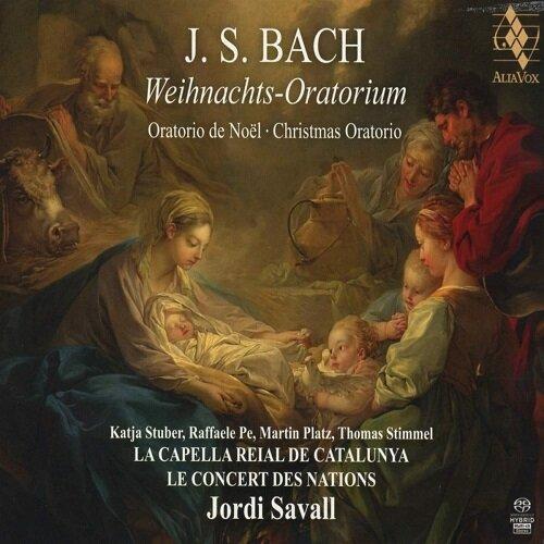 [수입] 바흐 : 크리스마스 오라토리오 BWV248 [2SACD Hybrid 디지팩]