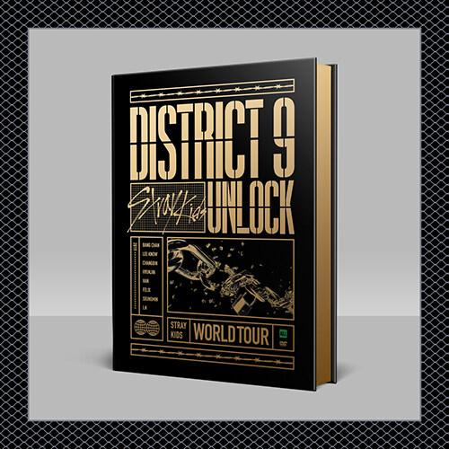 스트레이 키즈 - Stray Kids World Tour District 9 : Unlock in SEOUL DVD (2disc)