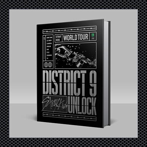 [블루레이] 스트레이 키즈 - Stray Kids World Tour District 9 : Unlock in SEOUL BLU-RAY (2disc)