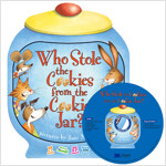 노부영 송 애니메이션 세이펜 Who Stole the Cookies from the Cookie Jar? (Boardbook + Hybrid CD)