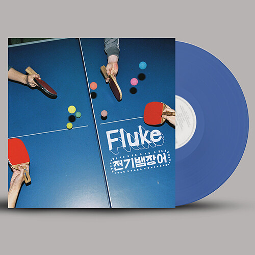 전기뱀장어 - 정규 2집 Fluke [180g 컬러 LP][한정반]