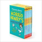 호리드 헨리 Horrid Henry's Mischievous Mayhem 10 Books Box Set (Paperback 10권, 영국판)