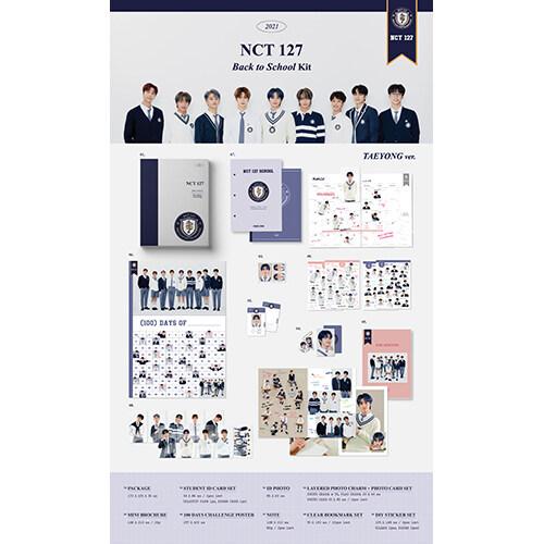 [굿즈] 엔시티 127 - Back to School Kit [TAEYONG Ver.]