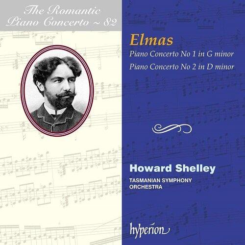 [수입] 스테판 엘마스 : 피아노 협주곡 1, 2번