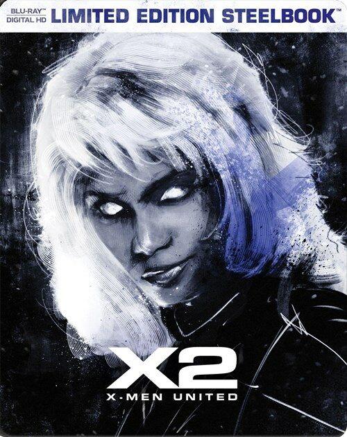 [중고] [수입][블루레이] 엑스맨 2 스틸북 - 베스트 바이 독점 한정판 (한글자막)(Blu-ray)