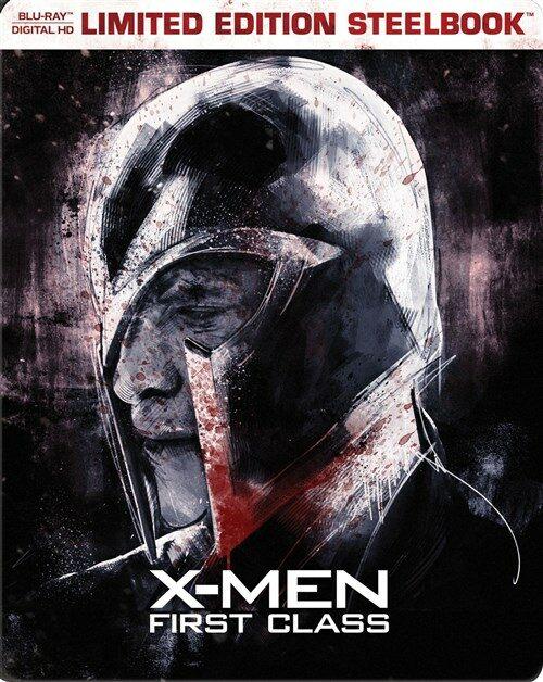 [중고] [수입][블루레이] 엑스맨 : 퍼스트 클래스 스틸북 - 베스트 바이 독점 한정판 (한글무자막)(Blu-ray)