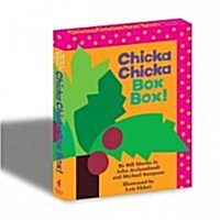 Chicka Chicka Box Box!: Chicka Chicka Boom Boom; Chicka Chicka 1, 2, 3 (Hardcover, Boxed Set)
