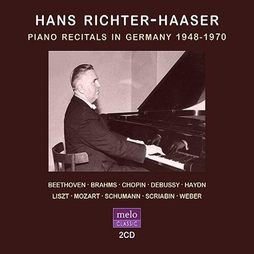 [수입] 리히터-하저  - 피아노 리사이틀 (1948-1970) [2CD]