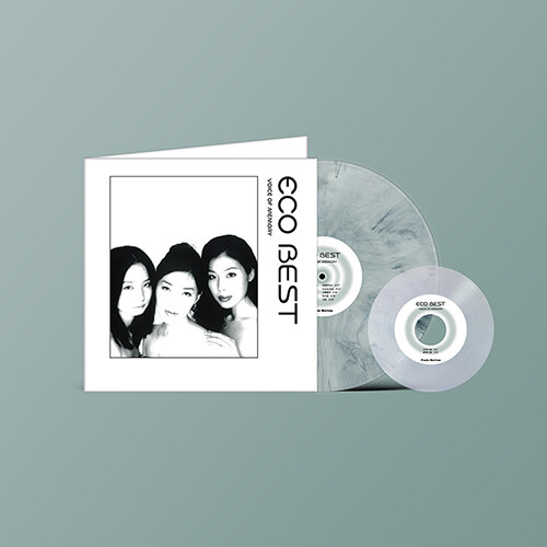 에코 - ECO BEST _ Voice of memory [180g 12인치 White marbled LP+7인치 LP][게이트 폴드 커버]
