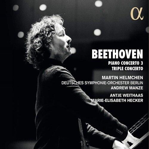 [수입] 베토벤 : 피아노 협주곡 3번 & 트리플 콘체르토 [디지팩]