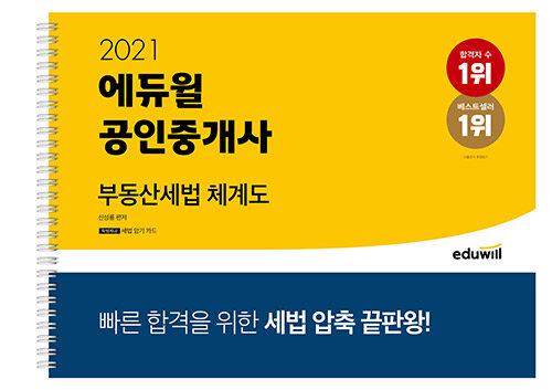 2021 에듀윌 공인중개사 부동산세법 체계도 (스프링)