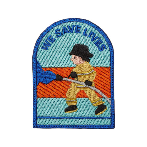 [119REO] 소방관 와펜