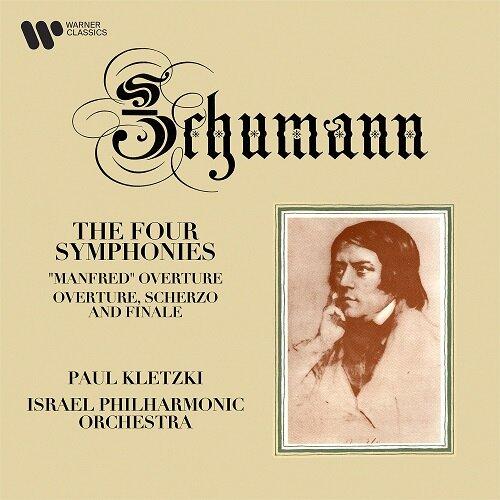 [수입] 슈만 : 교향곡 1-4번 & 서곡 [2CD]