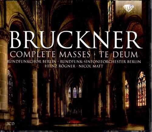 [수입] 브루크너 : 미사 제1-3번, 테 데움 [3CD]