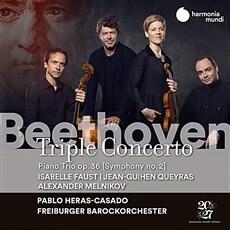 [수입] 베토벤 : 삼중 협주곡 & 교향곡 2번 (베토벤 편곡 피아노 트리오 버전) [디지팩]