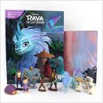 Disney Raya Last Dragon My Busy Books 디즈니 라야와 마지막 드래곤 비지북 (미니피규어 10개 + 놀이판)