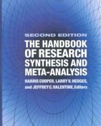 The handbook of research synthesis and meta-analysis 2nd ed