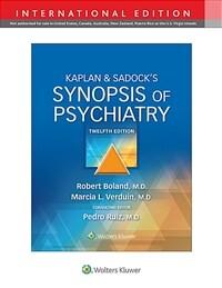 Kaplan & Sadock's synopsis of psychiatry / 12th ed
