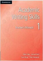 Academic Writing Skills 1 Teacher's Manual (Paperback)