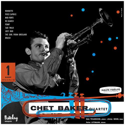 [수입] Chet Baker - Chet Baker in Paris, Vol 1 (Barclay 1955) [180g LP]