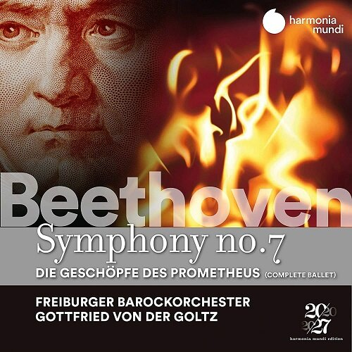 [수입] 베토벤 : 교향곡 7번 & 프로메테우스의 창조물 전곡 Op.43 [2CD 디지팩]