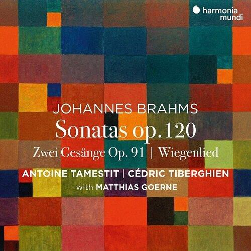 [수입] 브람스 : 비올라 소나타 & 2개의 노래 Op.91 [디지팩]