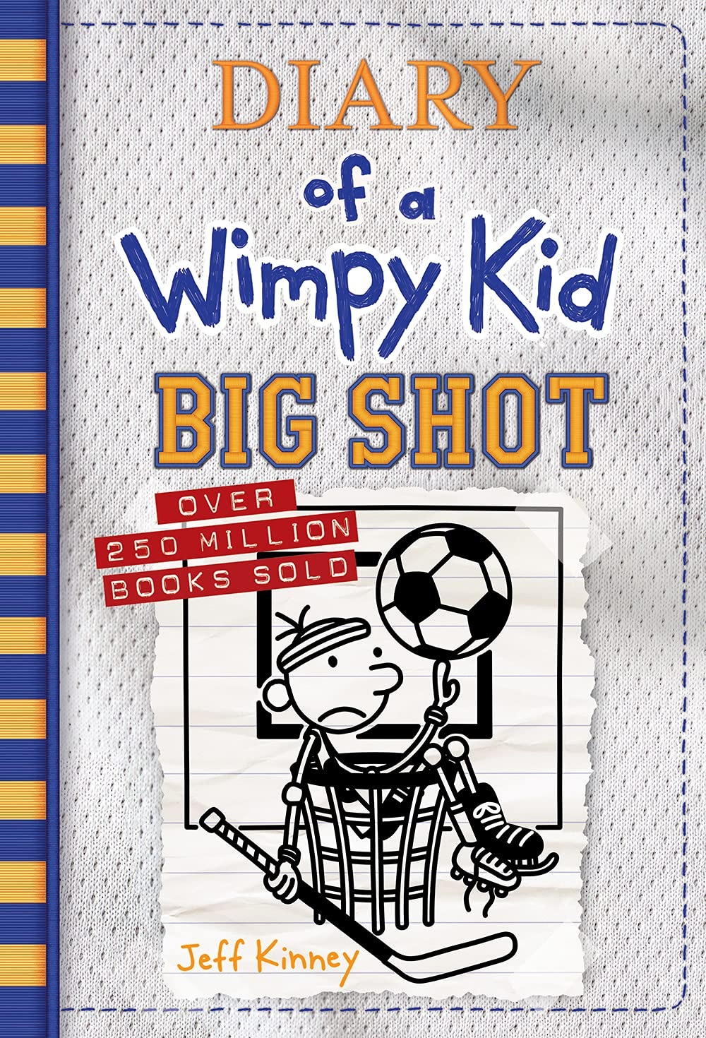 Diary of a Wimpy Kid #16 : Big Shot (Hardcover, 미국판)