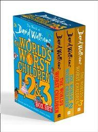 The World of David Walliams: The World's Worst Children 1, 2 & 3 Box Set (Paperback 3권)