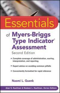 Essentials of Myers-Briggs Type Indicator assessment 2nd ed