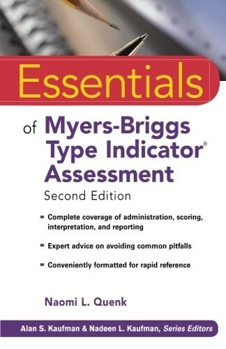 Essentials of Myers-Briggs Type Indicator Assessment (Paperback, 2)