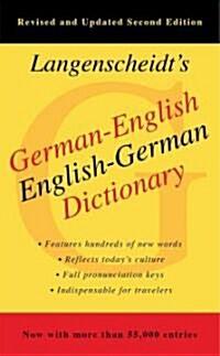 Langenscheidts German-English Dictionary (Mass Market Paperback, 2)
