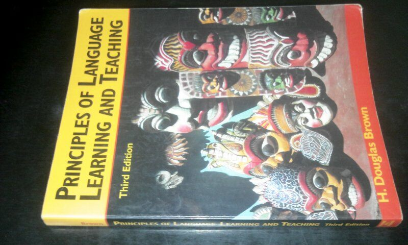 Principles of language learning and teaching 3rd ed