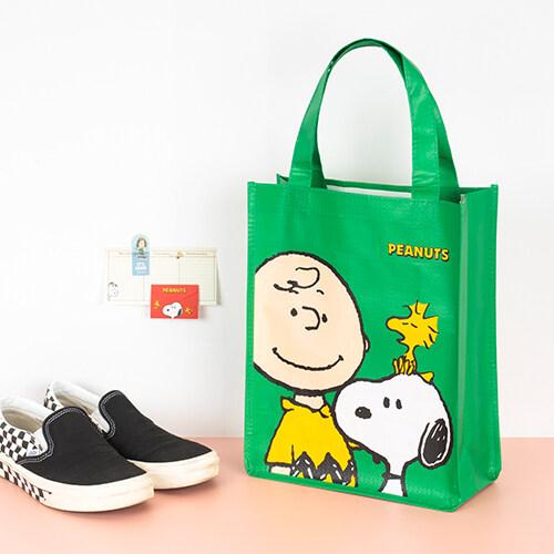 피너츠 원색 타포린 가방