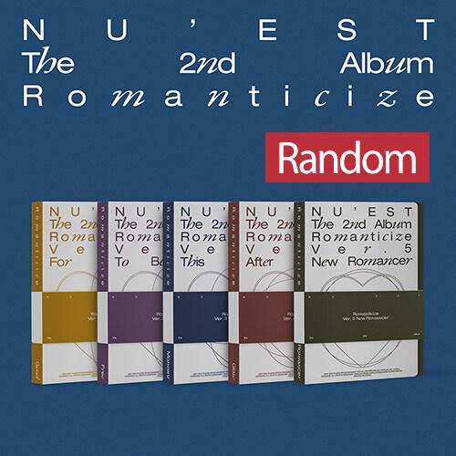 뉴이스트 - NU'EST The 2nd Album Romanticize [버전 5종 중 랜덤발송]