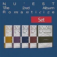 [SET] 뉴이스트 - NU'EST The 2nd Album 'Romanticize' [버전 5종 세트]