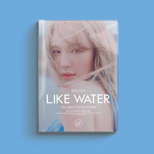 웬디 - 미니 1집 Like Water [Photo Book Ver.]