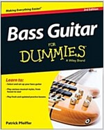 Bass Guitar for Dummies, Book + Online Video & Audio Instruction (Paperback, 3)