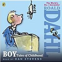 Boy : Tales of Childhood (CD-Audio, Unabridged ed)