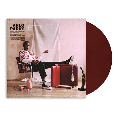 [수입] Arlo Parks - Collapsed In Sunbeams [180g 딥 레드 컬러 LP][한정반]