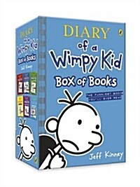 Diary of a Wimpy Kid: Box of Books (Books 1-6) (Paperback)
