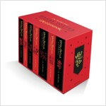 Harry Potter Gryffindor House Editions Paperback Box Set (Package)