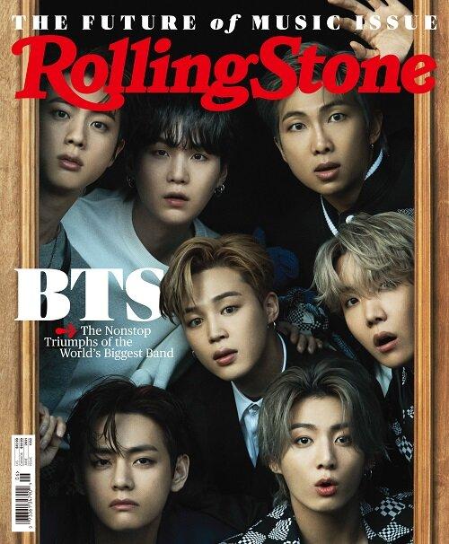 Rolling Stone (월간 미국판): 2021년 06월호 BTS 방탄소년단 커버