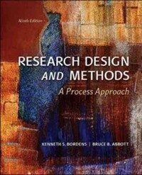 Research design and methods : a process approach 9th ed