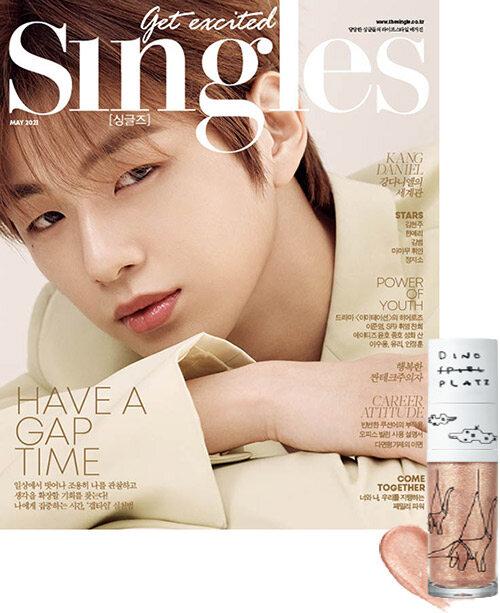 싱글즈 Singles B형 2021.5 (표지 : 강다니엘)