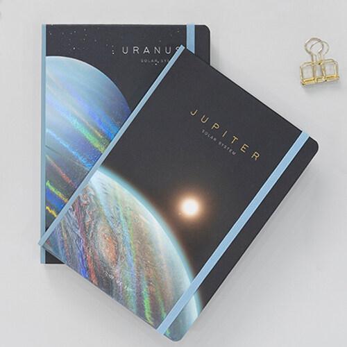 우주 홀로그램 양장노트