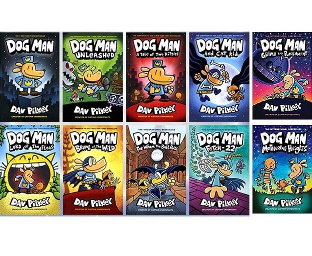 [세트] Dog Man #1~10권 세트 (Hardcover 10권)