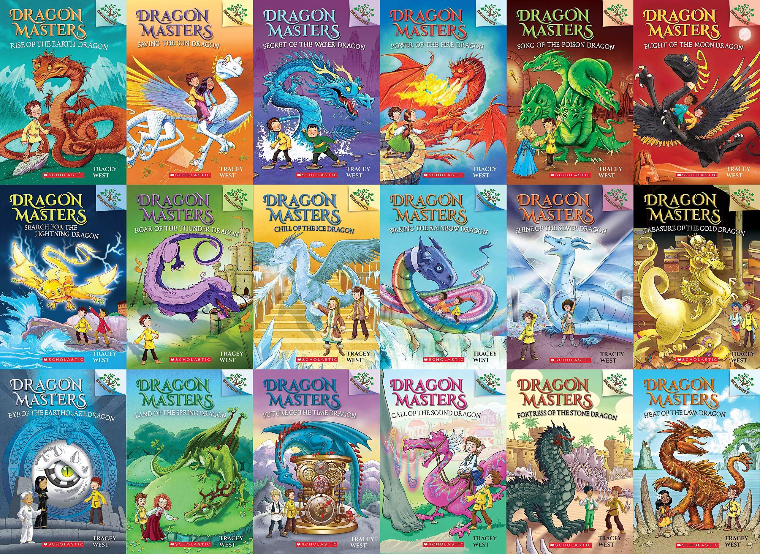 [세트] Dragon Masters #1~18권 세트 (Paperback 18권)