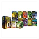 Eerie Elementary #1-10 Box Set (Paperback 10권 + CD 10장 & Storyplus + Wordbook)